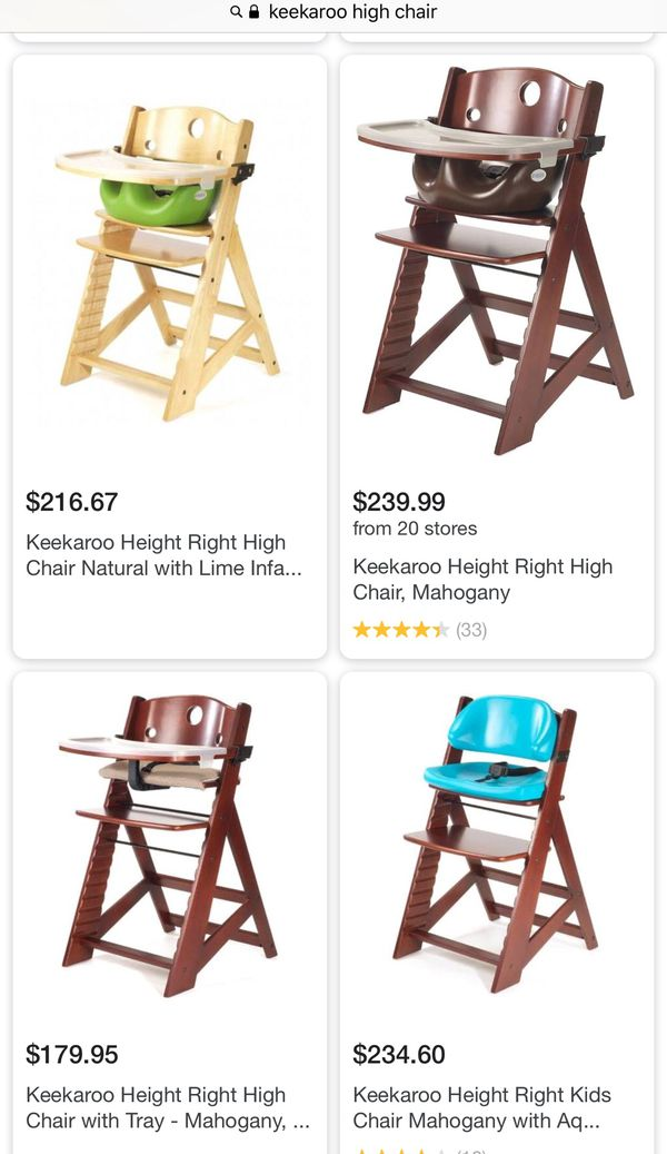 keekaroo high chair recliner chairs on sale right height for in burlingame ca offerup