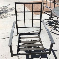 Swivel Patio Chairs Sale Computer Desk And Chair Nice Sturdy Metal Glass Top Table Set With Umbrella Stand Great Value As A Project For In Peoria Az Offerup