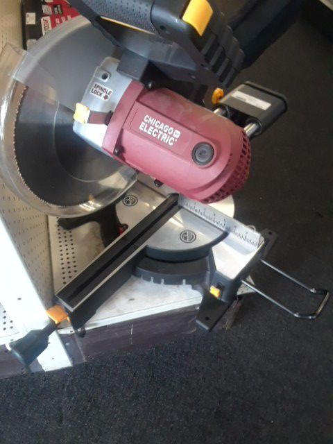 Chicago Electric Power Tools Miter Saw