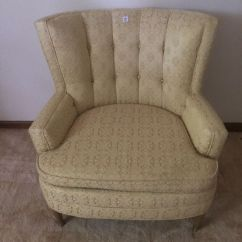 Yellow Bedroom Chair What Is A Club Cute Vintage For Sale In Burr Ridge Il Offerup