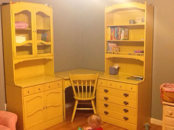 Ethan Allen Pale Yellow Girl S Bedroom Set For Sale In Puyallup Wa Offerup