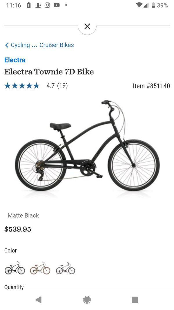 Electra beach cruiser wih gears for Sale in Moreno Valley