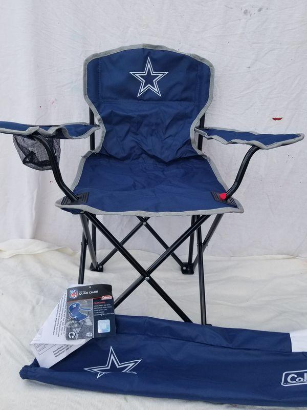 dallas cowboys folding chairs wheelchair jump fail youth tailgate chair for sale in lyman sc