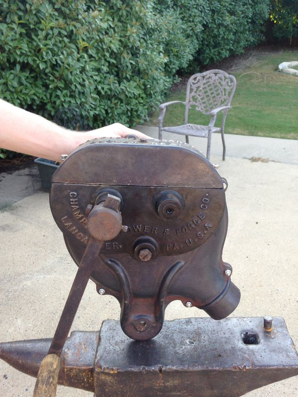 Antique Forge Blower For Sale