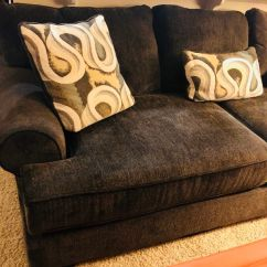 Jerome's Swivel Chairs Ergonomic Chair With Ottoman Brand New Jerome S Deep Comfortable Gray Sofa Down Filled Accent Pillows Retail 850 For Sale In San Diego Ca Offerup