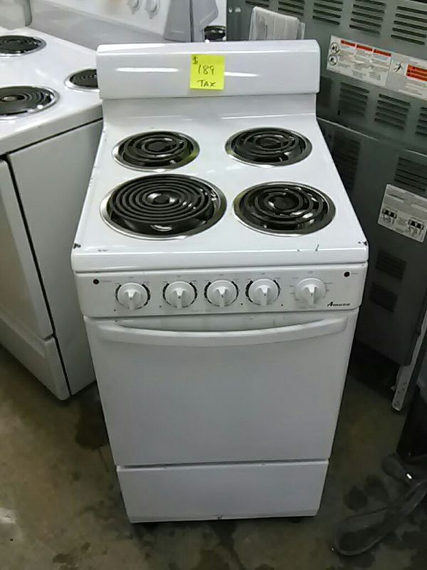 Electric white stove apartment size for Sale in Memphis TN  OfferUp