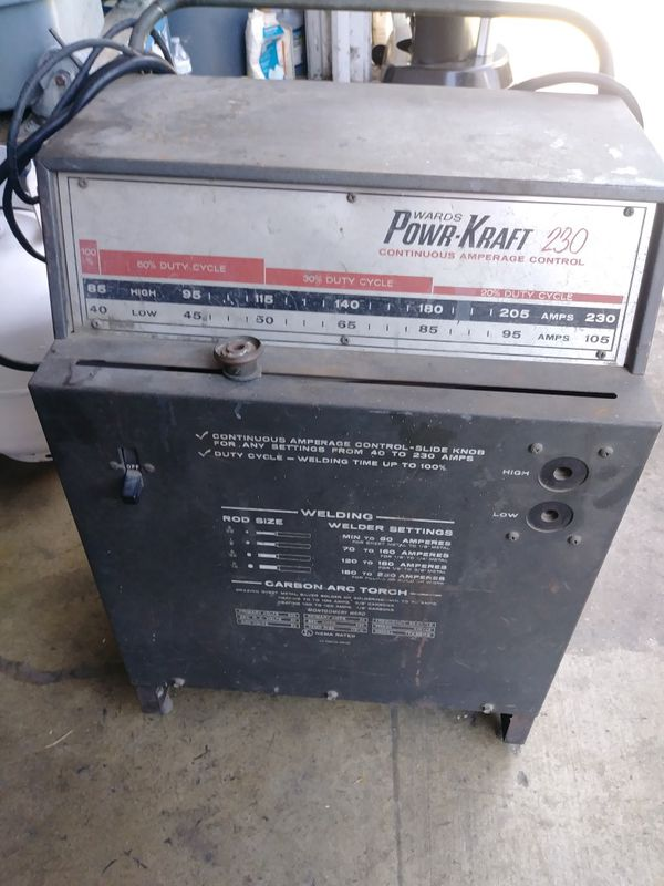 Wards Powr Kraft 230 Welder For Sale