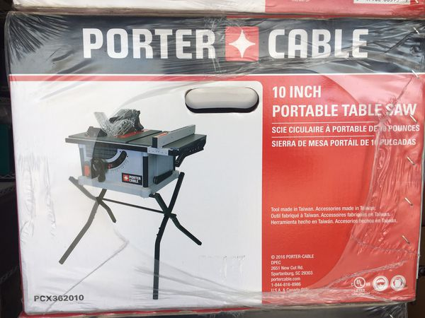 Porter Cable Portable Table Saw