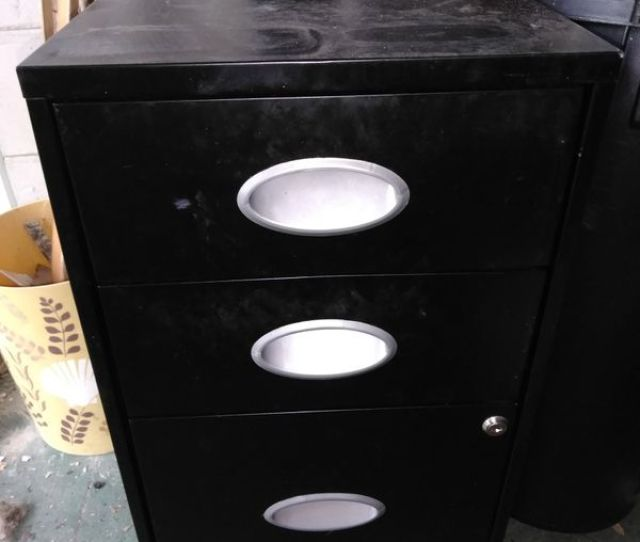 3 Drawer Small File Cabinet