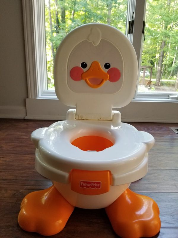 fisher price duck potty chair folding chairs lowes and step stool for sale in brecksville oh