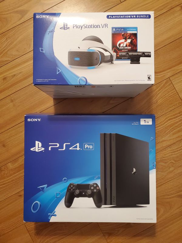 Playstation 4 PRO VR bundle for Sale in Chehalis. WA - OfferUp