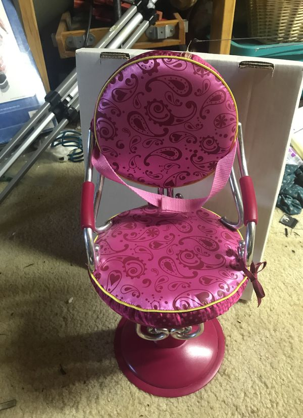 doll salon chair wedding chairs alibaba american girl for sale in orange city fl offerup