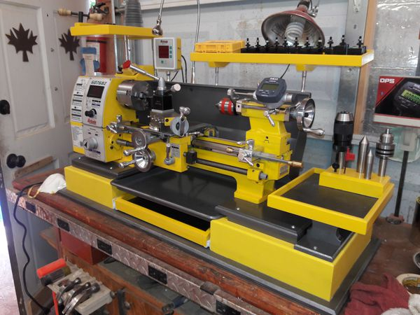 Grizzly Hobby Lathe
