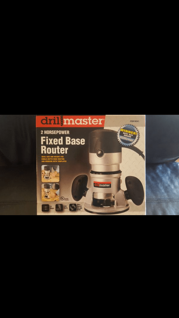 Drill Master 2 Hp Fixed Base Router