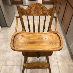 Antique Wooden High Chair Cover Rentals Harrisburg Pa For Sale In Sloan Nv Offerup