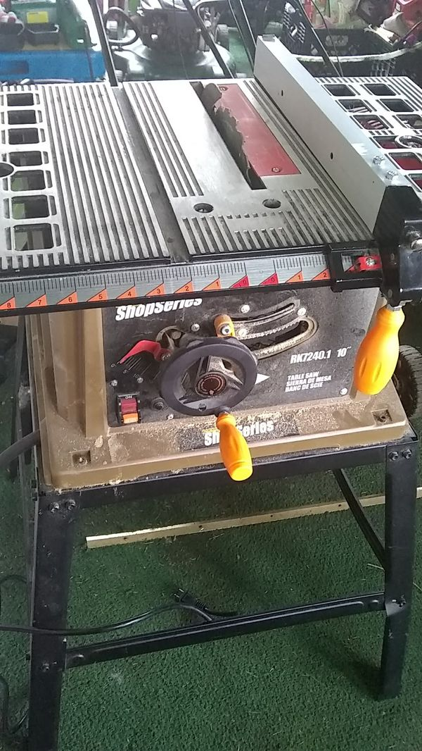 Rockwell 10 Table Saw