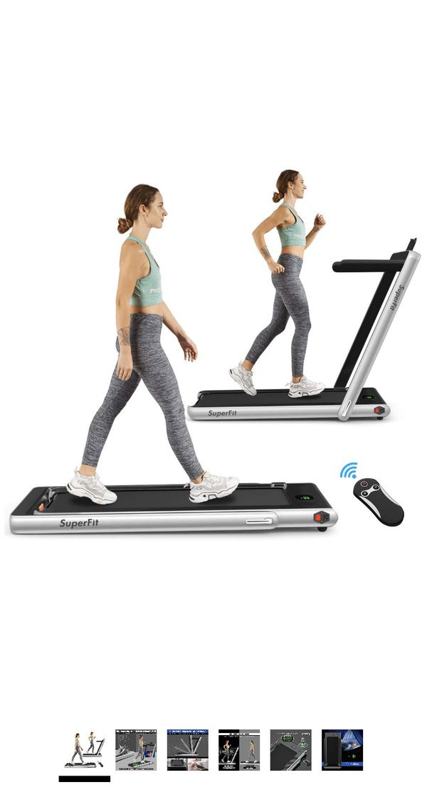 SuperFit foldable home treadmill for Sale in New York, NY