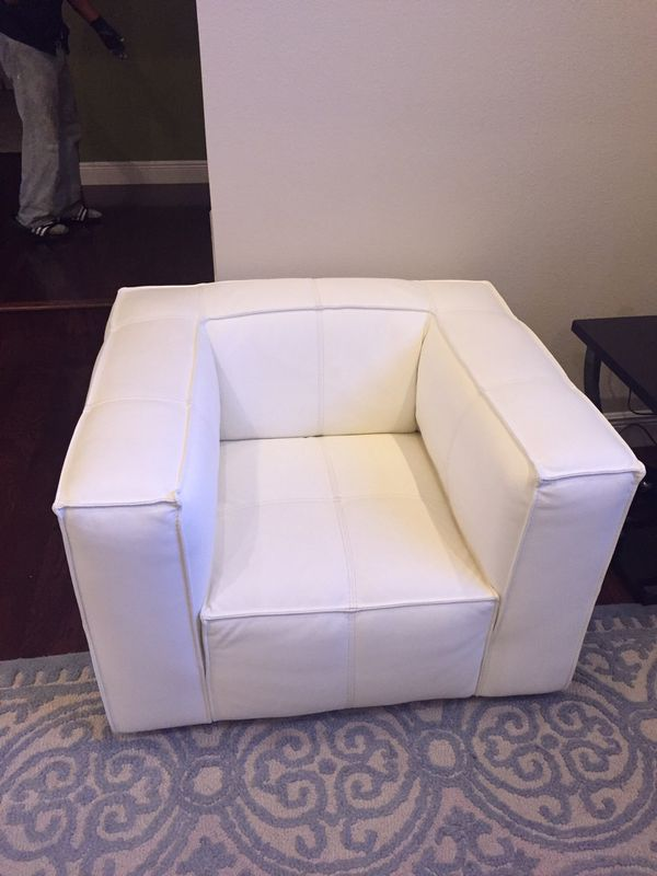 white leather chairs for sale kitchen target scan design chair in longwood fl offerup