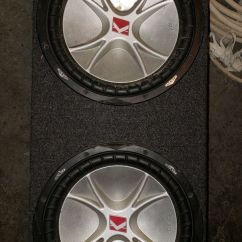 Kicker Cvr Volvo Wiring Diagram Fh 12 Subwoofers For Sale In Wallingford Ct Offerup