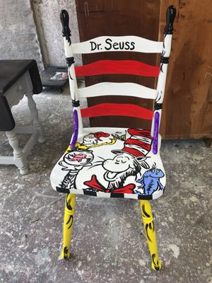 dr seuss chair outdoor wooden rocking chairs black for sale in greer sc offerup