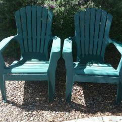 Green Resin Patio Chairs Costco Beach Chair 2 Plastic For Sale In Gilbert Az Offerup