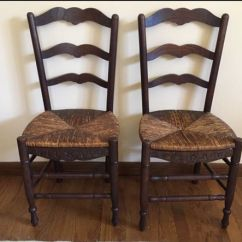 Rush Seat Chairs Folding Moon Saucer Chair 2 Antique For Sale In Ridgefield Ct Offerup