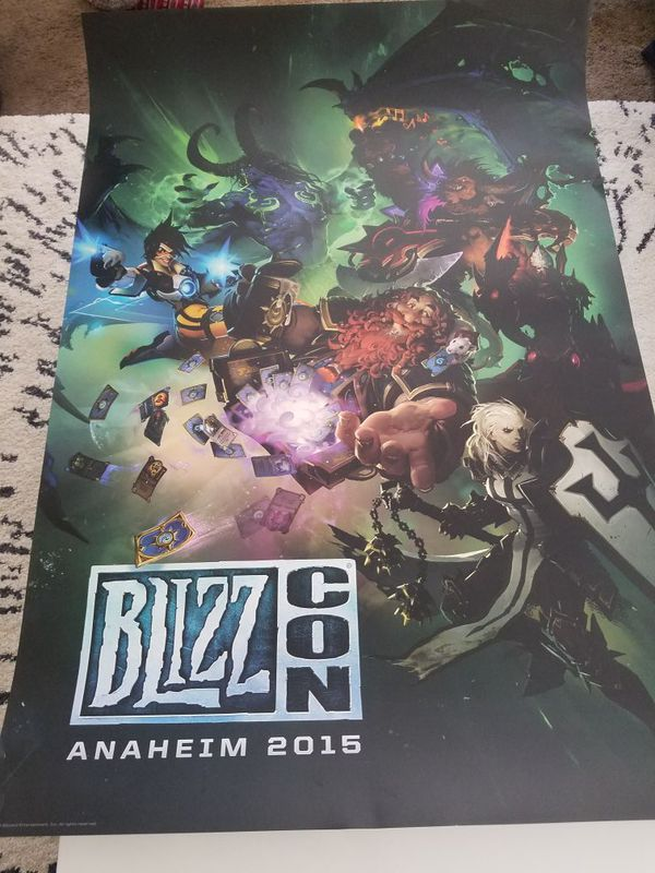 2015 exclusive blizzcon poster