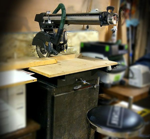 Vintage Craftsman Radial Arm Saw Value