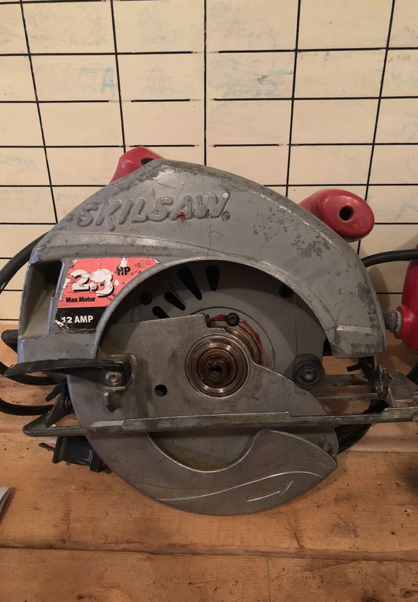 How To Change Blade On Skilsaw 5400