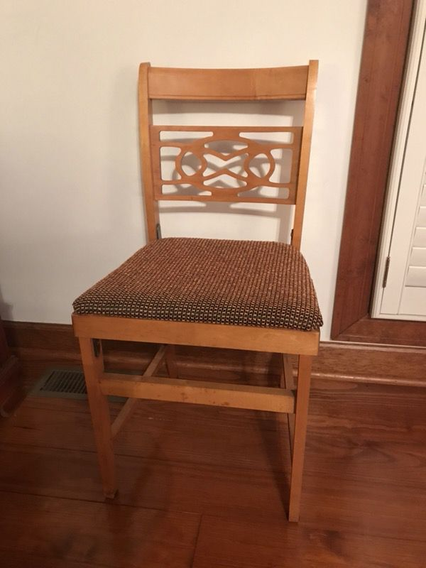 coronet folding chairs outdoor wicker pool lounge norquist 6 for sale in charlotte nc offerup