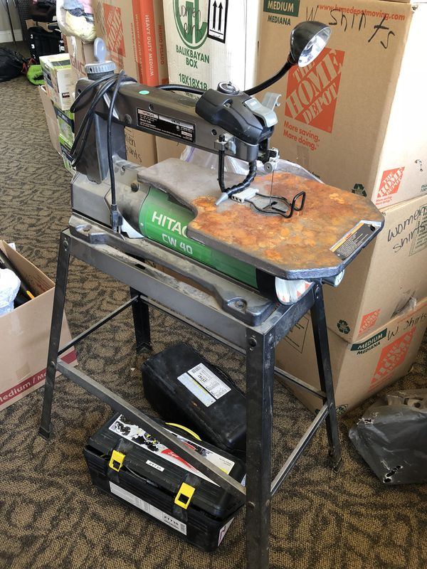 Hitachi Scroll Saw