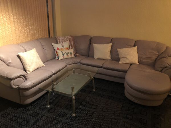 miramar leather sofa century furniture quality for sale in fl offerup