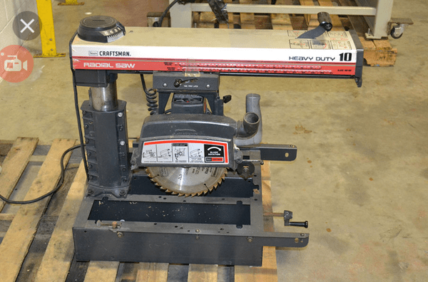 Craftsman 10 Radial Saw