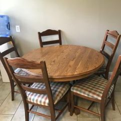 Chairs Dining Table Replacement Patio Chair Slings New And Used Tables For Sale Offerup Oak 5 In Haysville Ks