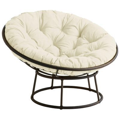 papasan chair ottoman mesh desk pier 1 and ivory for sale in gurnee il offerup