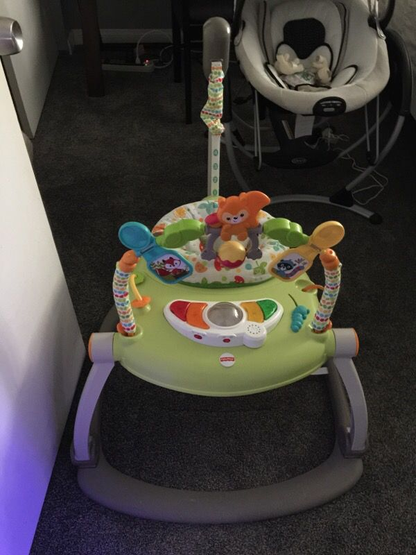 stationary bouncer for baby