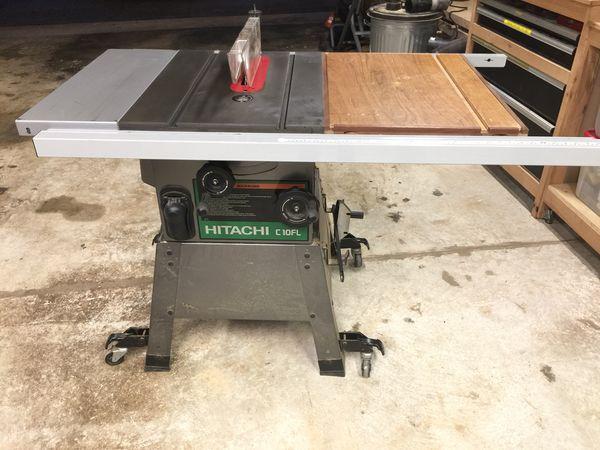 Hitachi Table Saw C10fl