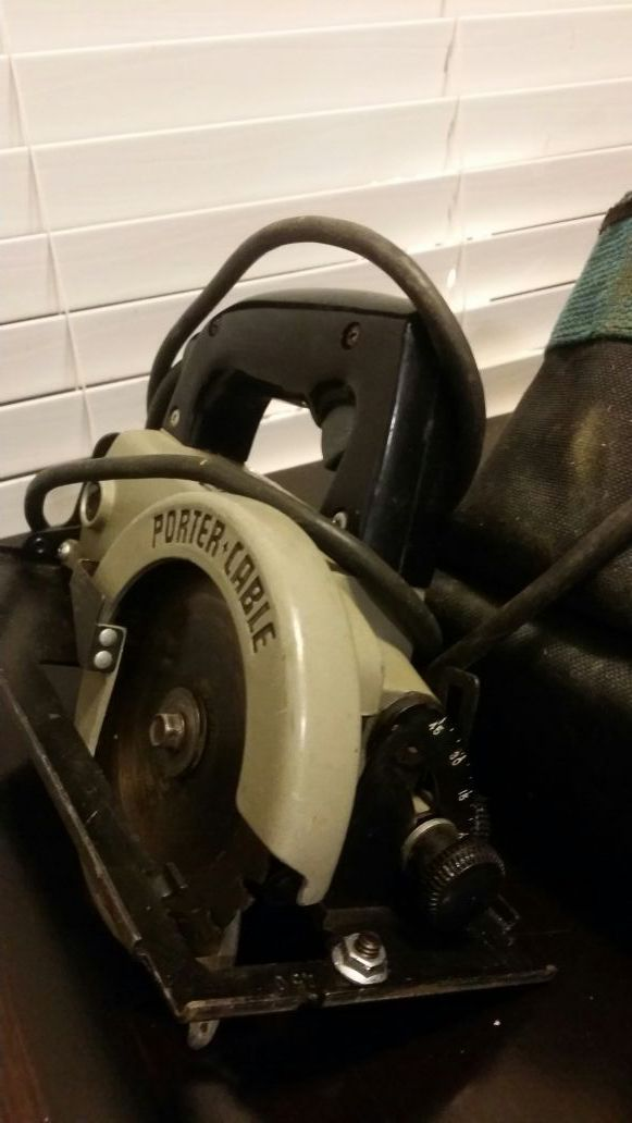 Porter Cable Trim Saw For Sale