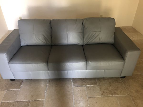 leather sofas scottsdale az teak outdoor corner sofa ikea gray and pillows for sale in offerup