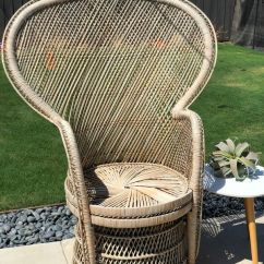 Vintage Peacock Chair Bariatric Commode Wicker For Sale In Anaheim Ca Offerup