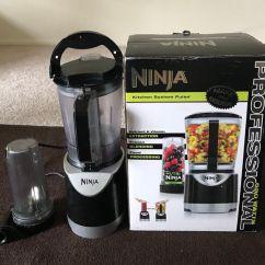 Ninja Kitchen System Pulse Outdoor And Bar Nutri Blender Smoothie Maker Food Processor 550 Watt Moving Out Sale