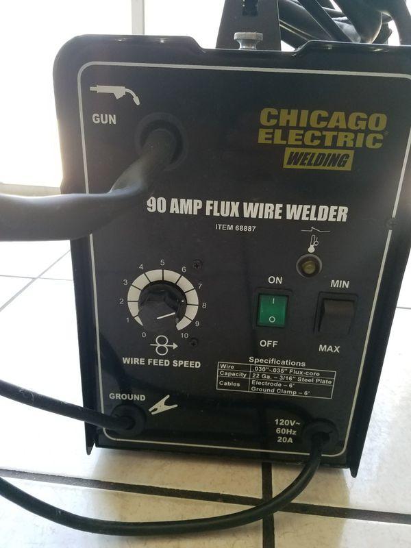 Chicago Electric Welder | WoodWorking