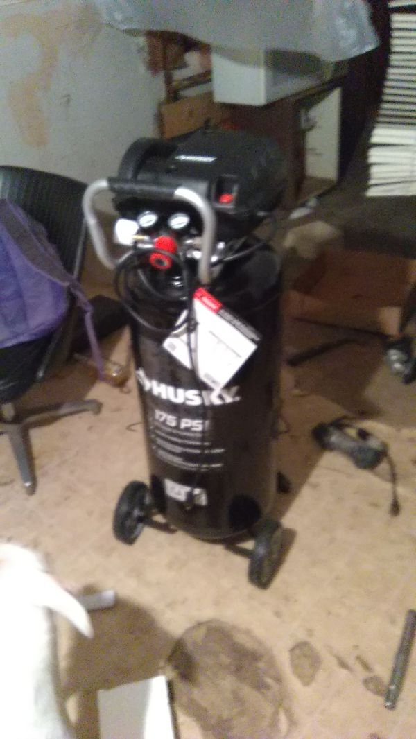 Husky 20 Gallon Air Compressor 175 Psi