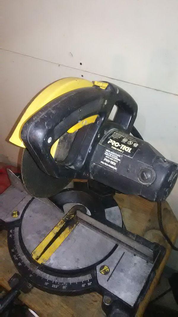 Pro Tech Miter Saw 7208