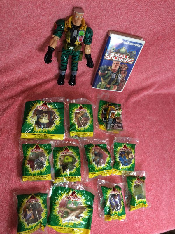 vintage small soldiers 12