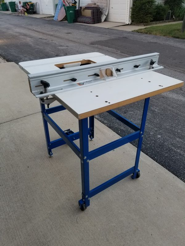Bench Dog Router Table For Sale