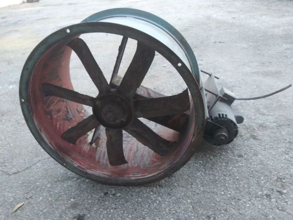 Paint Booth Exhaust Fan