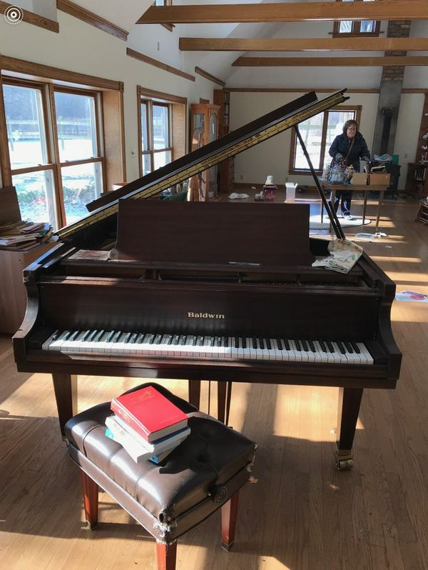 piano baldwin baby grand