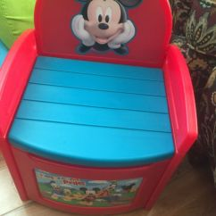 Mickey Mouse Clubhouse Chair Womb Design Within Reach Storage For Sale In San Jose Ca Offerup