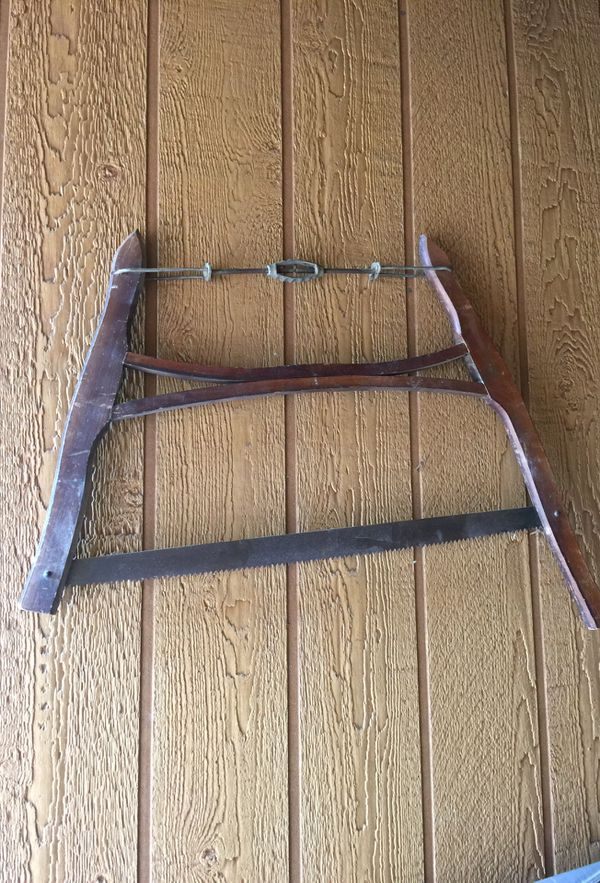 Vintage Bow Saw For Sale